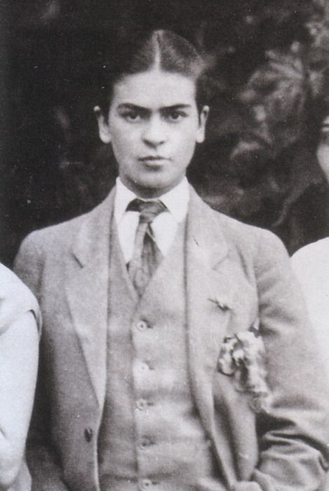 Guillermo Kahlo, Frida in Men's Clothing, 1926