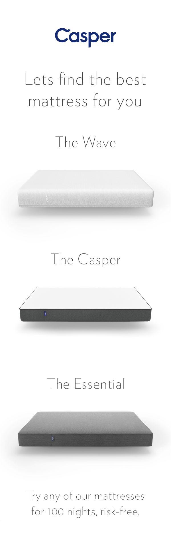 90 best casper the best bed for better sleep images on pinterest