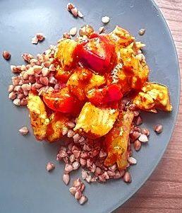 Dietetyczny gulasz z kurczaka 300 kcal w tradycyjnym stylu z dodatkiem papryki – mmm pycha:)