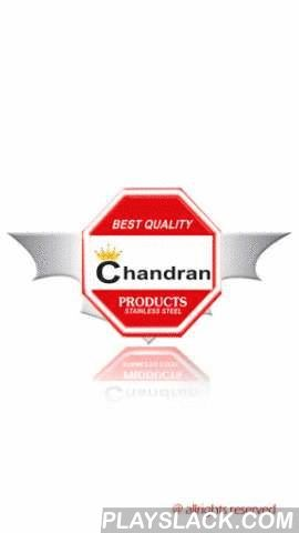 """Chandran Kitchen Equipments  Android App - playslack.com , We at Chandran Steels, one of the world's most advanced control system companies prove to be excellent forever. We indeed look closely in listening to customer's detailed product requirements, because every customer has different and diverse requirements, and then developing solutions in response to them. We have built across various countries an enviable reputation for both unquestionable quality and excellent service.""""Every job is…"""