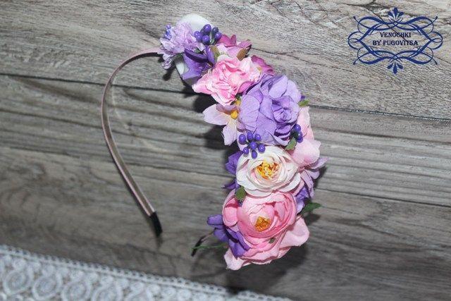 Купить ободок цветочный- большой выбор, шикарное качество и приятные цены на ободки для волос . Купить в Киеве, вся Украина