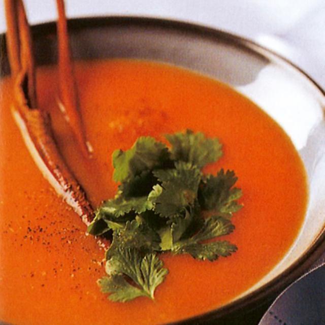 Κρύα καροτόσουπα ? κουζινα › τι να μαγειρέψω σήμερα; › ορεκτικά › συνταγές για σούπες || ELLE