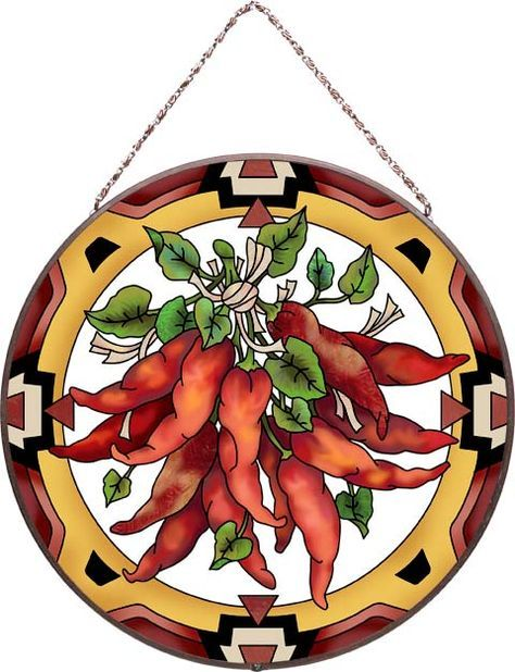 Chili Pepper Lights | Art Panel-AP468R-Chili Peppers - Chili Peppers