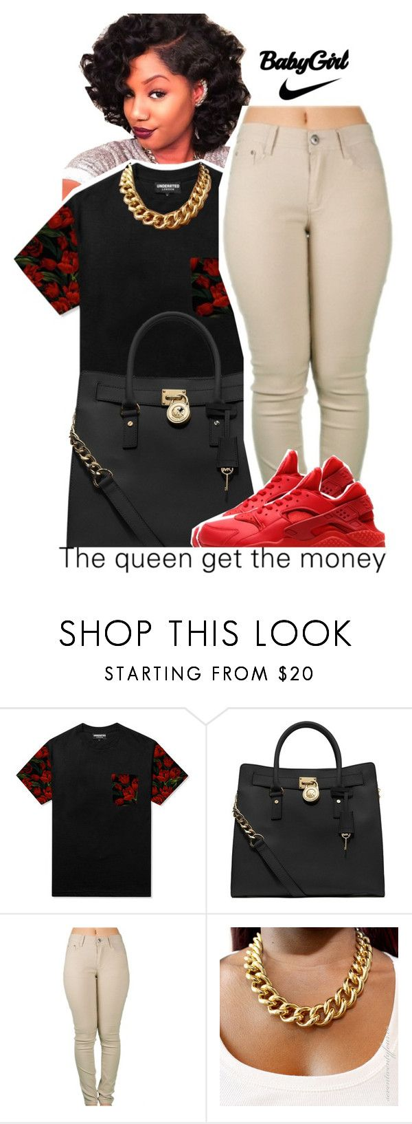"""""""I'm Finally 1⃣6⃣"""" by fashionkilla-lex ❤ liked on Polyvore featuring MICHAEL Michael Kors and NIKE"""