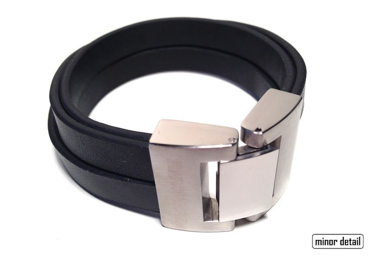 Mens Leather Bracelet by Cudworth featuring: - 4 Pieces of Black Leather composing the Band - Stainless Steel clasp in Matte and Polished combination - 21 cm length, 25 mm wide clasp - Comes in Official Cudworth Gift Box.  #MensBracelet #MensJewellery #MensFashion #LeatherBracelet #Cudworth #Fashion #Jewellery