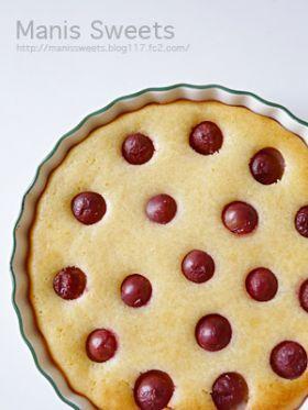 「葡萄のヨーグルトケーキ」*Manis* | お菓子・パンのレシピや作り方【corecle*コレクル】