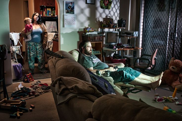 Alone together: the silent despair of the suburbs –in pictures