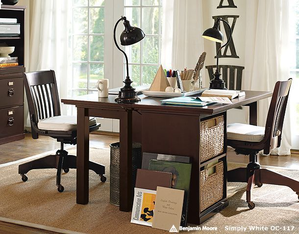 Office His And Hers For The Home Pinterest Ikea