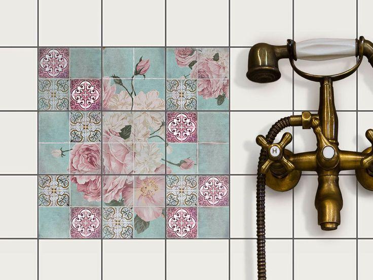 Die besten 25+ Fliesenaufkleber bad Ideen auf Pinterest - deko ideen badezimmer wandakzente