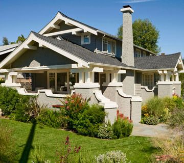 Craftsman Bungalow Addition- {Interesting Roof line, Asian inspired perhaps}