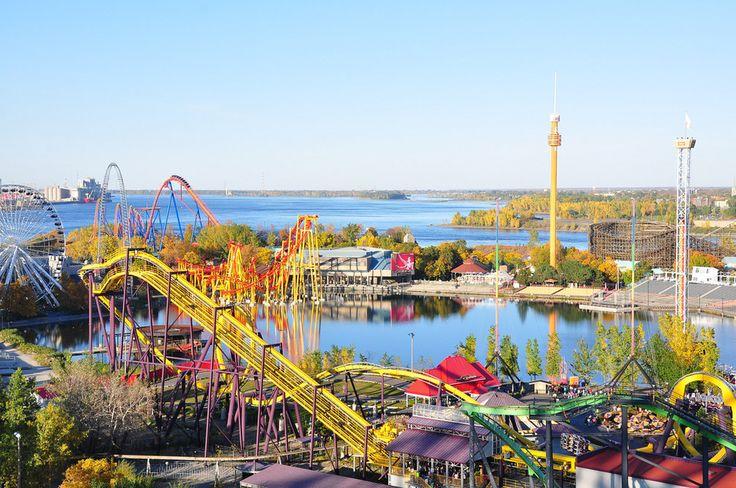 Un parc d'attractions en pleine ville? Ouais…