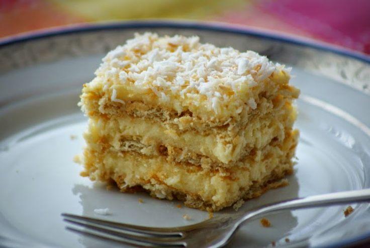 Z Kuchni Do Kuchni: Rafaello – ciasto bez pieczenia