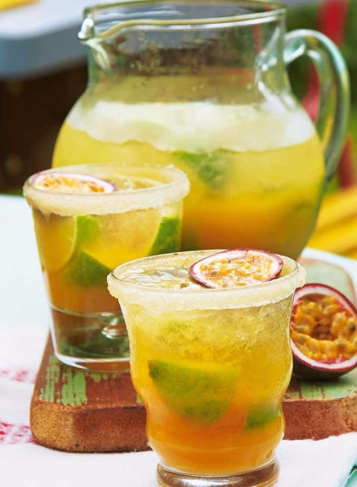 This light, summery version of a traditional Brazilian cachaça cocktail is delicious.