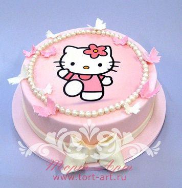 Детские торты — Торт «Hello Kitty» на заказ