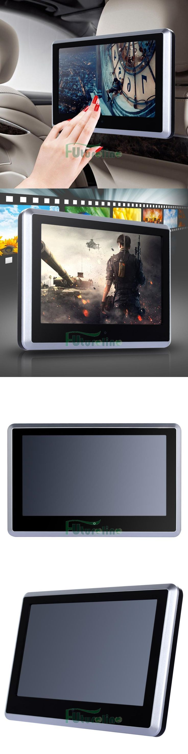 Car Monitors w Built-in Player: Hd 10.1 Touch Car Digital Lcd Headrest Monitor Mp5 Dvd/Usb Player Ir/Fm Game Tv -> BUY IT NOW ONLY: $96.99 on eBay!