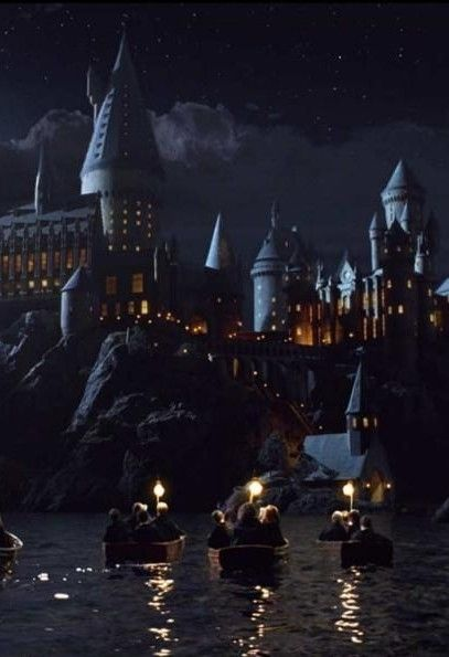 "if muggles came upon Hogwarts, it would look like a decrepit building with a ""keep out: dangerous"" sign on it"