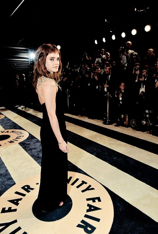 "watsonlove: """" Emma Watson at The 2018 Vanity Fair Oscar Party "" """