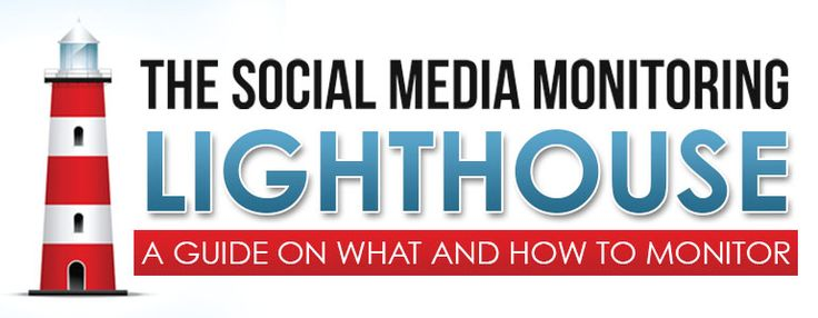 What do you need to monitor on social media? Check out the social media monitoring lighthouse with social media monitoring tools!