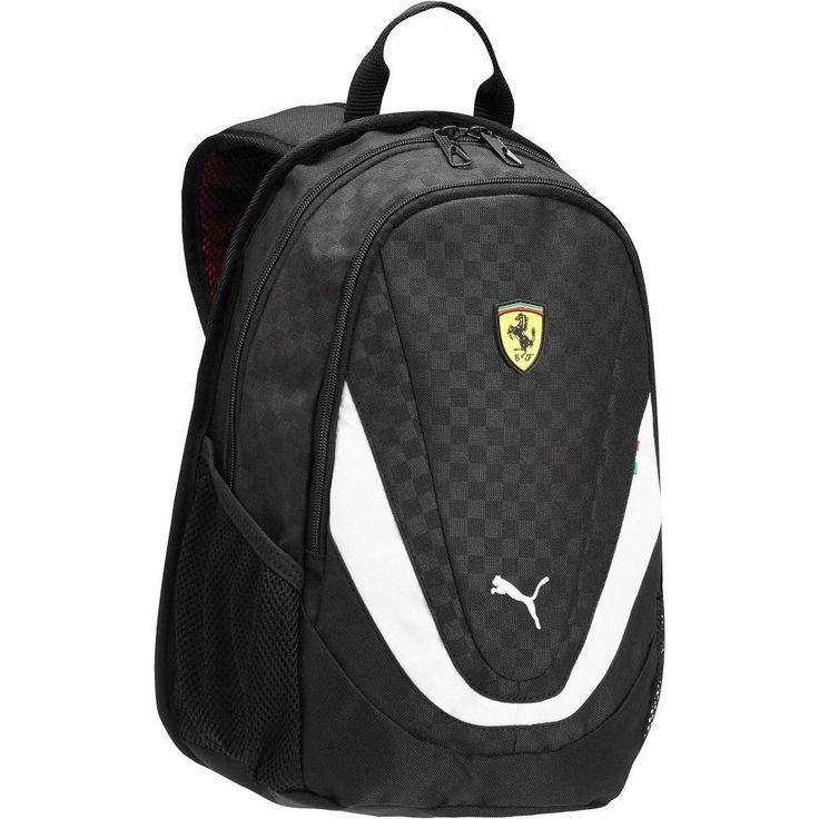 PUMA Ferrari Replica Small Backpack (Black) for $30 http://sylsdeals.com/puma-ferrari-replica-small-backpack-black-for-30/