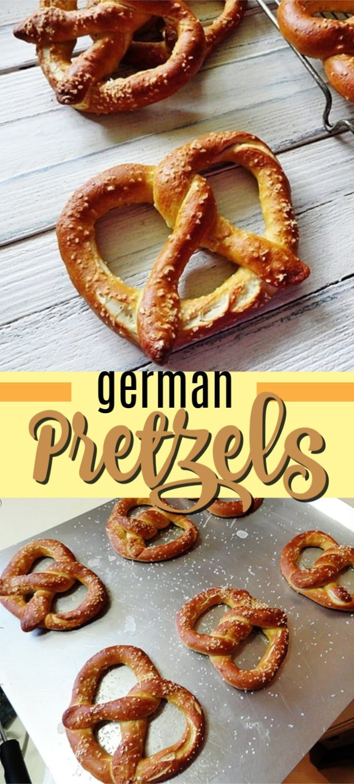 These homemade pretzels are perfect! We use an authentic German pretzel recipe t…