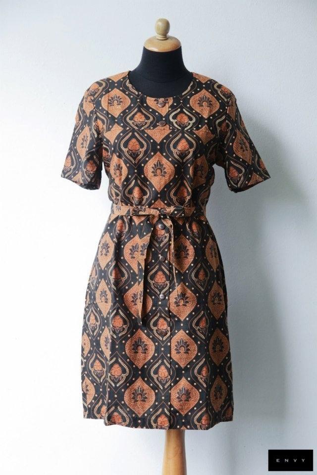 Classix batik dress