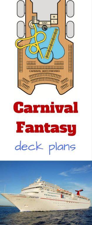 carnival fantasy #carnival #cruise deck plans #cruising #carnivalfantasy