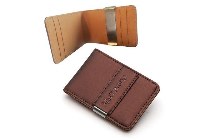 Creditcardhouder met geldclip