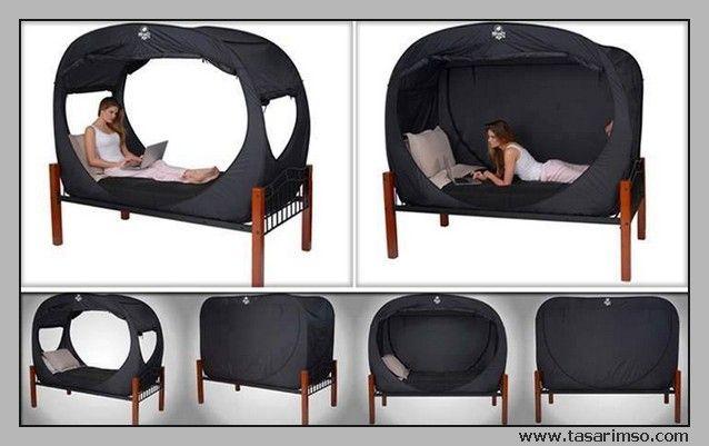 bed yatak çadır ilginç tasarım desing amazing cool design  http://www.tasarimso.com/