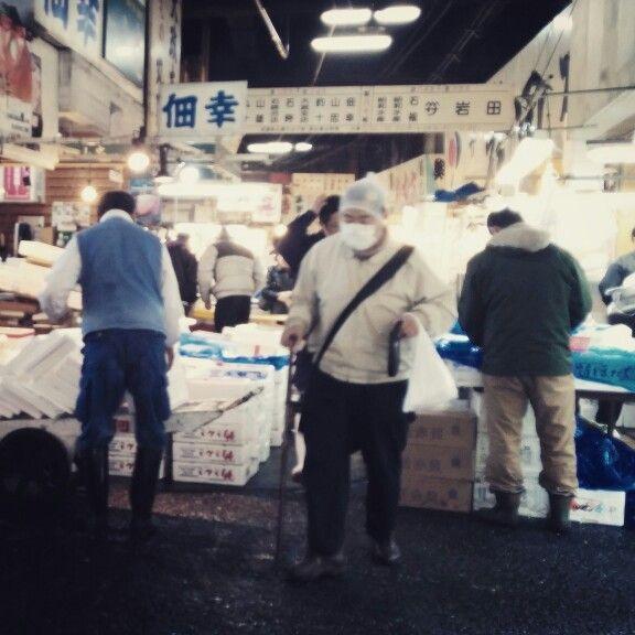 Tsukiji Market Tokyo © copyright Barbara Mazzei