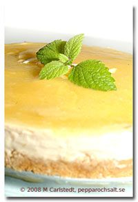 Cheesecake med citron - Cheesecake