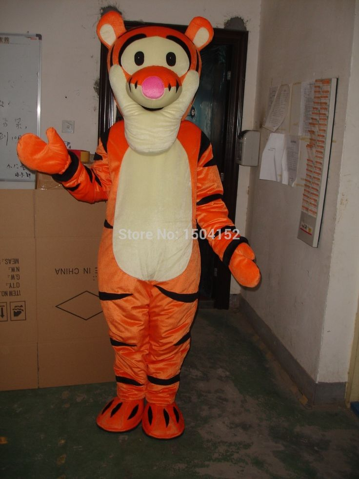 ==> [Free Shipping] Buy Best Tigger Adult Size Mascot Costume Halloween Fancy Dress Online with LOWEST Price   32232484559