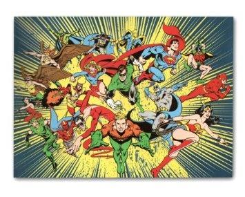 Amazon.com: DC Comics Superhero Classic Fleece Throw Blanket: Home & Kitchen