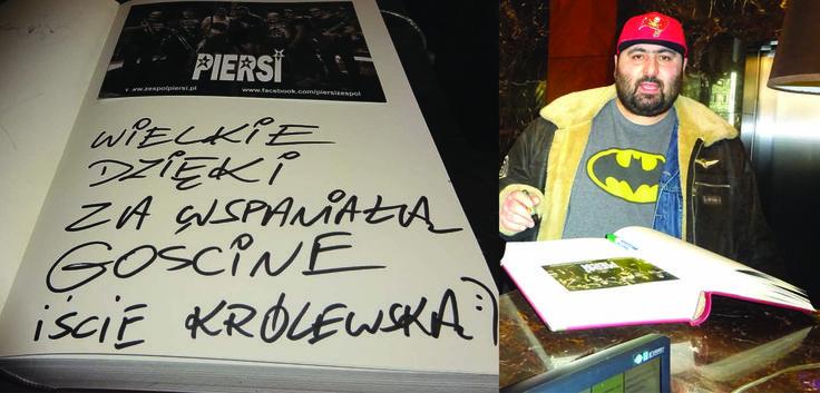 """Adam """"Asan"""" Asanov - piosenkarz, kompozytor, autor tekstów oraz wokalista grupy muzycznej Piersi."""