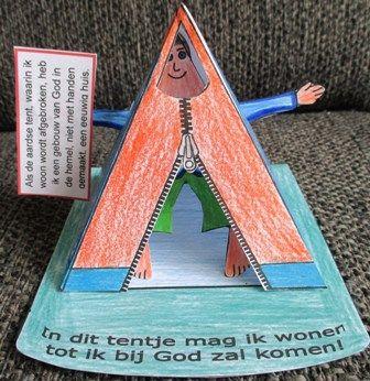Jouw lichaam als tentje  http://www.gelovenisleuk.nl