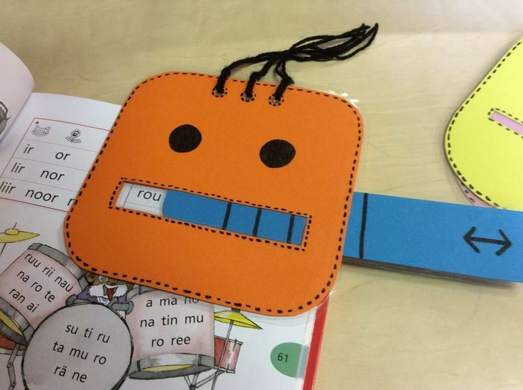 Robottiapuri lukemisen helpottamiseksi (Jenni Wallius / Alakoulun aarreaitta FB -sivustosta)