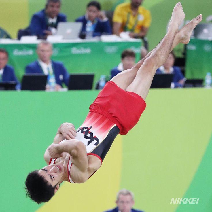 体操男子種目別床運動で期待された白井は、惜しくもメダル獲得はなりませんでした(玉) http://s.nikkei.com/2alDfn7  #日経リオ #rio2016 #olympics #リオ #リオ五輪 #オリンピック #五輪