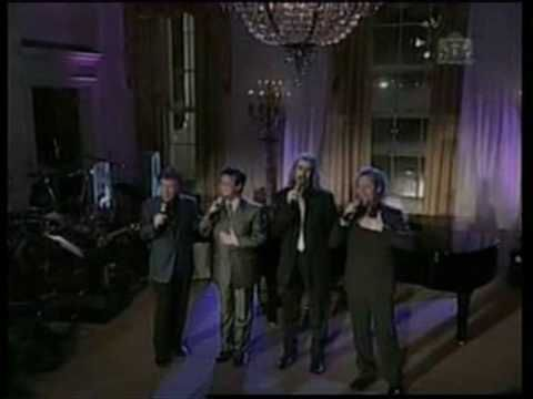 Gaither Vocal Band Let freedom Ring - from the Whitehouse - with President Bush...DAVID PHELPS WOWS THE PRESIDENT.