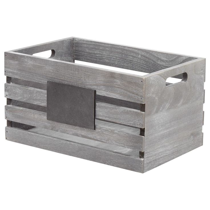 Small Wooden Crate/Baskets & Storage/Organization|Bouclair.com