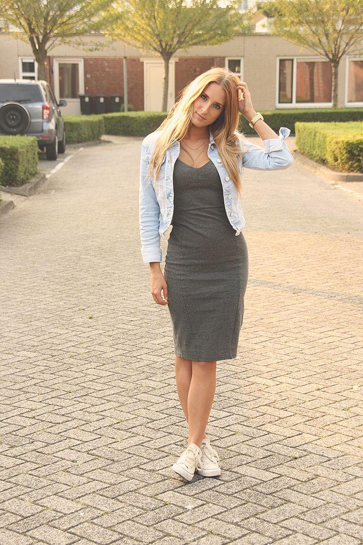 Converse Lilla Outfit