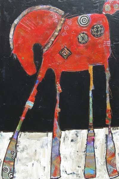❤️ her art!  http://jfosterstudio.com/paintings.html #horses #art #equineassistedtherapy