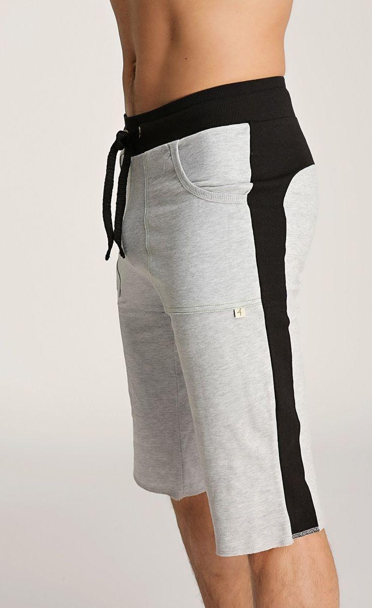 Eco Men's Shorts for Yoga, Fitness, Tennis & lounging (eco-friendly fiber - Eucalyptus & Birch Tree)