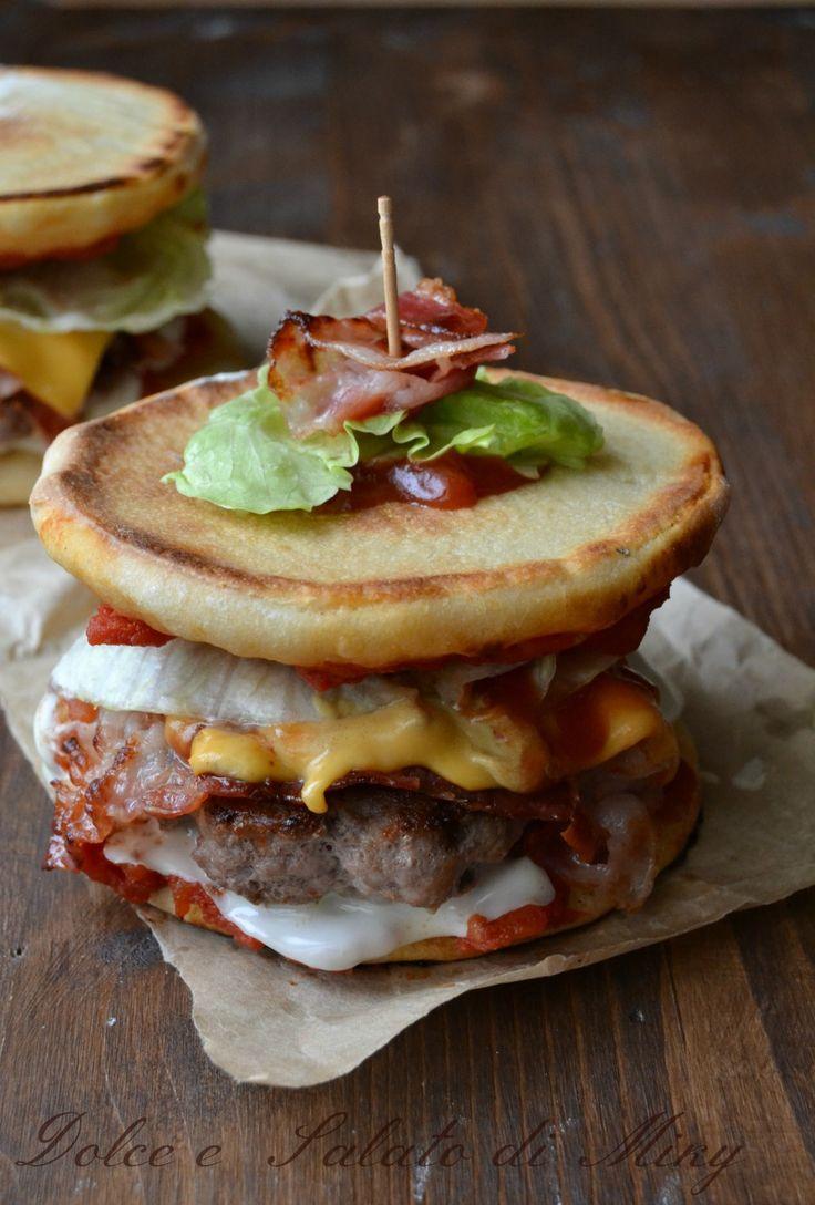 Ricetta pizzaburger| Dolce e Salato di Miky