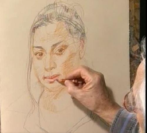 Video Download: Drawing & Painting People with John Raynes: Approaching Portraits with Confidence, Part 1 | NorthLightShop.com