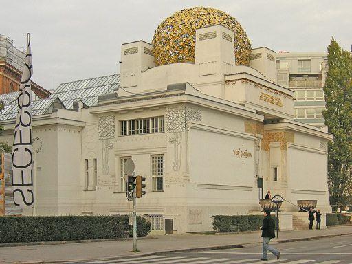 Выставочный павильон Венского Сецессиона, арх. Й.Ольбрих, Вена, 1897-1898 г