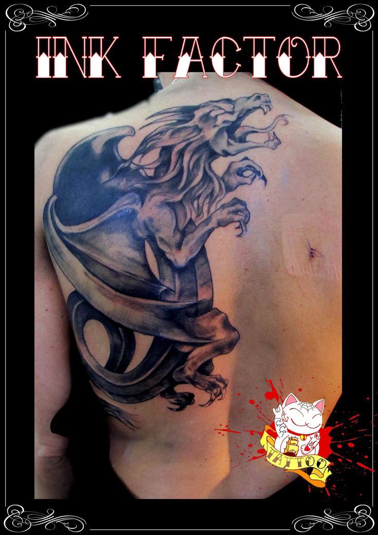 Drago #tattoo #tatuaggi #tatuaggio #ink #inked #oriental #orientale #orientaltattoo #drago