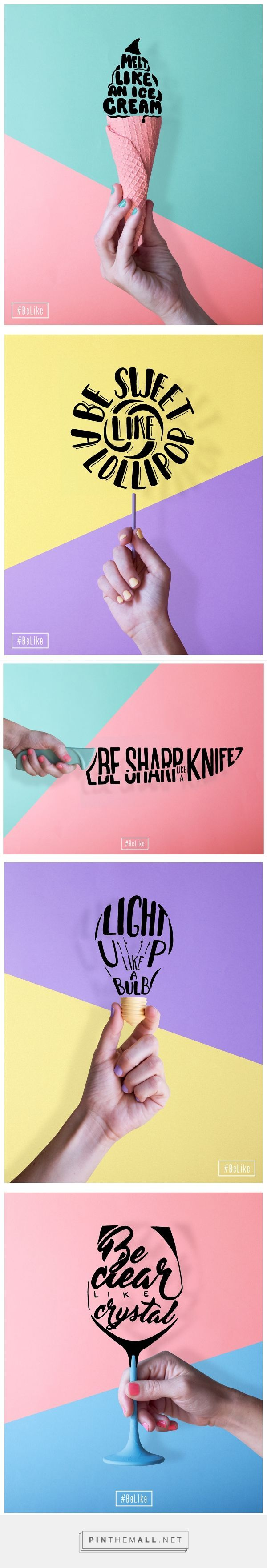 nice #BeLike on Behance - created via pinthemall.net...