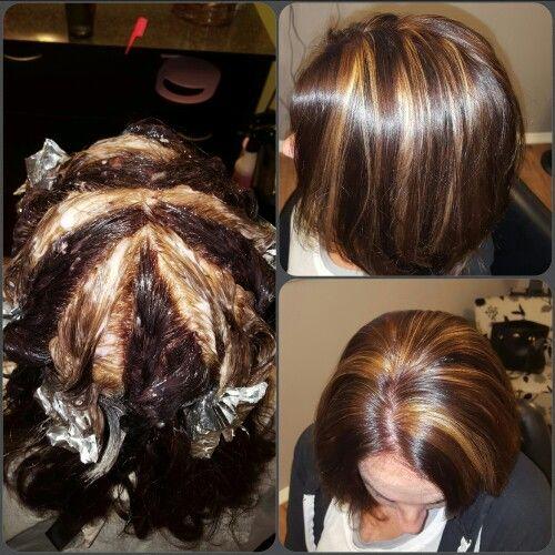 Pinwheel - kenra hair color 5rb and 8gb