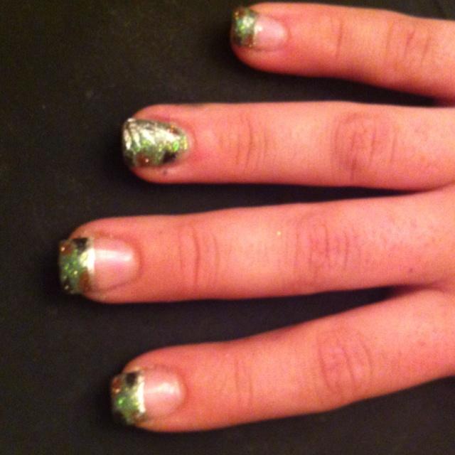 Camo Nails for the wedding super cute