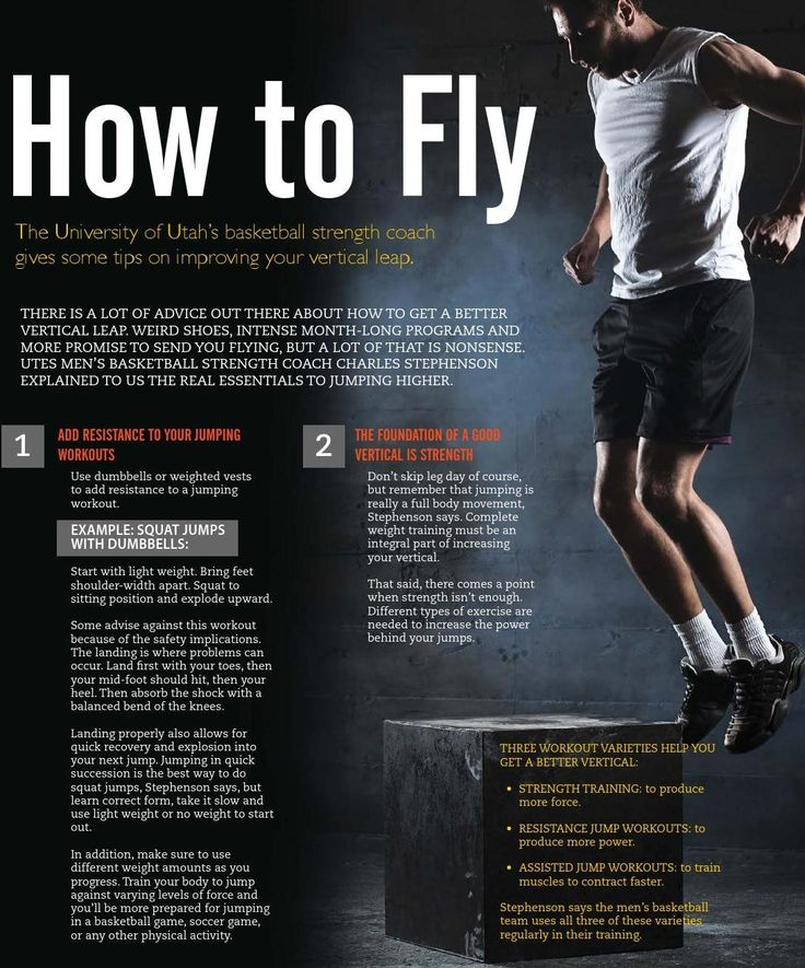 There is a lot of advice out there about how to get a better vertical leap. Weird shoes, intense month-long programs and more promise to send you flying, but a lot of that is nonsense. UTES Men's basketball strength coach Charles Stephenson explained to us the real essentials to jumping higher.