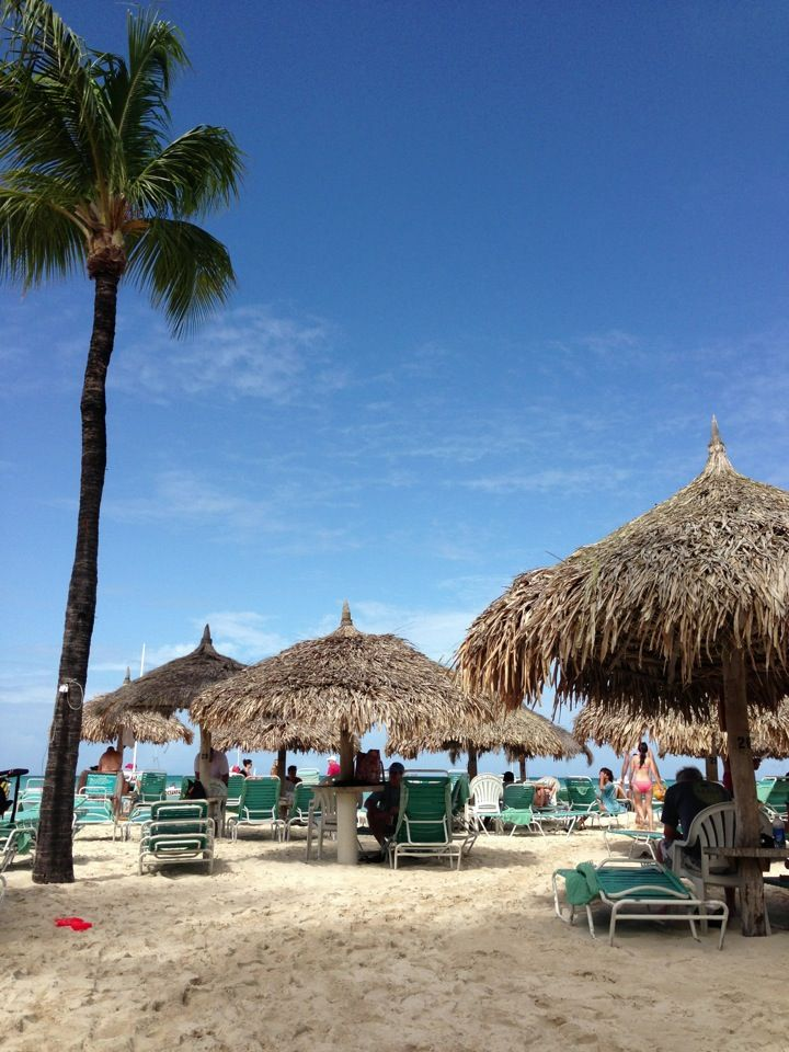 Aruba!!! One of the most relaxing  & beautiful places I have ever been!